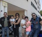 Concentración motera por dos menores con el 'Síndrome 5p-' en Urroz-Villa