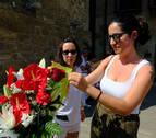 """Sara Magallón (asistió a la víctima de la explosión): """"Esta rosa es para Eduardo"""""""