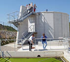 Inaugurada la nueva depuradora de filtro biológico de Liédena