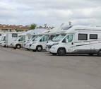 Se incrementa el turismo itinerante de autocaravanas en Tierra Estella