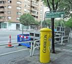 Las obras de Pío XII han eliminado ya unas 45 plazas de aparcamiento