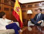 Casado ofrece a Santamaría entrar en el Comité Ejecutivo Nacional del PP