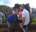 El navarro Joaquín Mencos, al frente del equipo de Cruz Roja que se desplaza a Guatemala