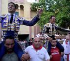 Tarde de triunfo para El Cid y Manuel Escribano en el coso de Tudela