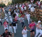 El quinto encierro de Tudela, el más veloz de los últimos 12 años
