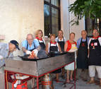 Los jubilados inician las citas con los almuerzos en Lodosa