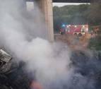 Fallece en Fraga (Huesca) un vecino de Cintruénigo al caer su camión por un puente