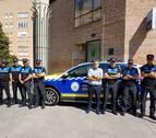 Dos nuevos vehículos híbridos para la policía local de Barañáin