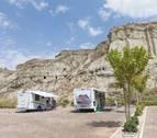 El turismo de autocaravana, de moda: estas son las áreas para pernoctar en Navarra