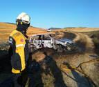 Extinguido un incendio de 2,6 hectáreas en el término de Badostáin