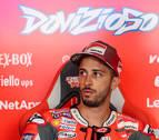 Dovizioso corre más que Rossi y Márquez en Brno