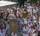 Los estelleses, de gala por San Andrés y la Virgen del Puy