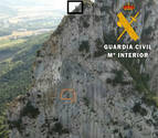 Rescatados dos escaladores guipuzcoanos en Dos Hermanas