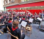 La banda de música de Burlada lanzará el chupinazo