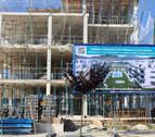 Las urbanizaciones con piscina llegan a los nuevos barrios de Pamplona