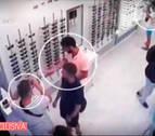 Publican el vídeo del robo de La Manada en San Sebastián