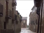 Una fuerte tormenta deja unos 50 litros en una hora en Carcastillo