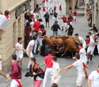 Arrastrado varios metros por una vaca en el encierrillo de Estella