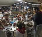 La hostelería trabaja en fiestas de Estella más de día que de noche