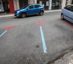 Suspendidas las multas de la zona roja del Ensanche de Pamplona