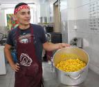 Zaporeak cocinó durante nueves meses en el Victoria Social Center
