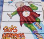 El nuevo mural que los niños de un hospital de Valencia ven desde sus ventanas