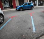 Aparcamientos en rotación: una paleta cromática para estacionar en Pamplona