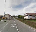 Detenido un motorista en Burguete por circular a 120 km/h en una vía limitada a 50