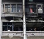Al menos nueve muertos y 15 heridos por el incendio de un hospital en Taiwán