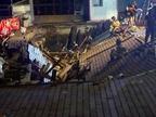 El derrumbe en Vigo que deja siete ingresados pudo deberse a un fallo estructural