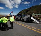 Al menos 24 muertos por el choque entre un autobús y un camión a las afueras de Quito