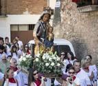 Los Arcos honra a la Virgen de la Asunción