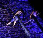 El Baluarte de Guadalupe acoge el último espectáculo de 'La muralla en danza'