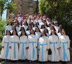 Las Hijas de Santa María de Leuca celebran 50 años en Villatuerta