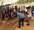 Exhumados en Artaiz (Unciti) los restos de dos víctimas del golpe militar de 1936