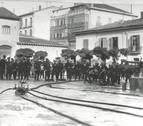 Guardia municipal, serenos y bomberos en la Pamplona de los años 20
