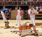 Las fiestas entran en la recta final del programa con el deporte rural en Lerín