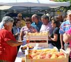 El mercado de proximidad empuja al sector agrícola de Sartaguda