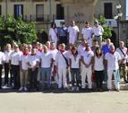 Los alcaldes de la merindad se hermanan en Tafalla durante sus fiestas