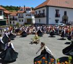 Jaurrieta baila sobre su historia en las fiestas de la Virgen Blanca