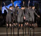 Danza sobre zancos, este martes en la Ciudadela, en el Festival de las Murallas