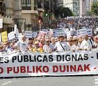 Pensionistas de Navarra y País Vasco convocarán una manifestación el 1 de octubre