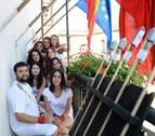 La comisión de fiestas prende la mecha en Barásoain