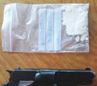Detenido en Sunbilla por conducir drogado y con una pistola simulada