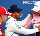 Hamilton se hace con la 'pole' en Bélgica