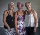 Inma, Sagrario y Rosa Nagore: una afición que no tiene edad