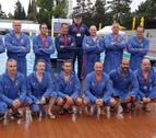 Los veteranos de Larraina se estrenan con empate en el Europeo