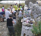 Se buscan voluntarios para limpiar el río en Mendigorría este martes