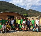 Último día del Campo de Voluntariado sobre memoria histórica de Igal