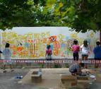Tapas, música, danzas y graffitis aúnan la Cultura Urbana de Azagra